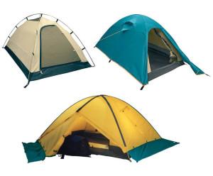 Элементы двухслойной палатки