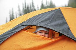 В надежной палатке