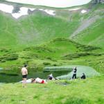 Озеро Ивор у подножия горы Близница