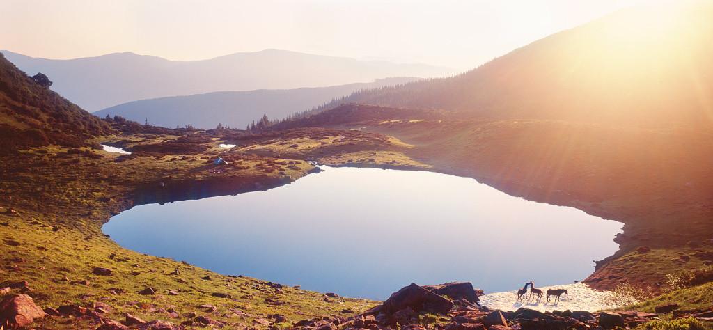 Поход по Карпатам через самые красивые озера в Карпатах