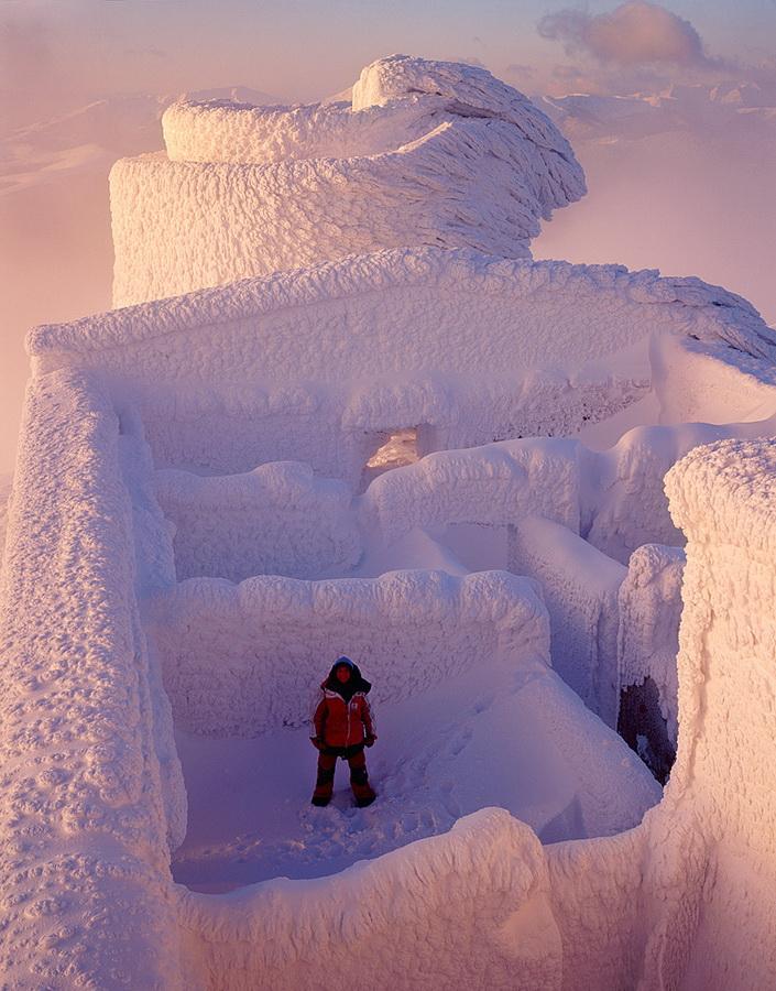 Поп Иван. Обсерватория зимой