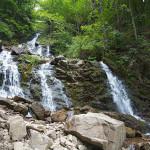 Начало похода - водопад Труфанец