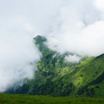 Мы на государственной границе. Под облаками Румыния